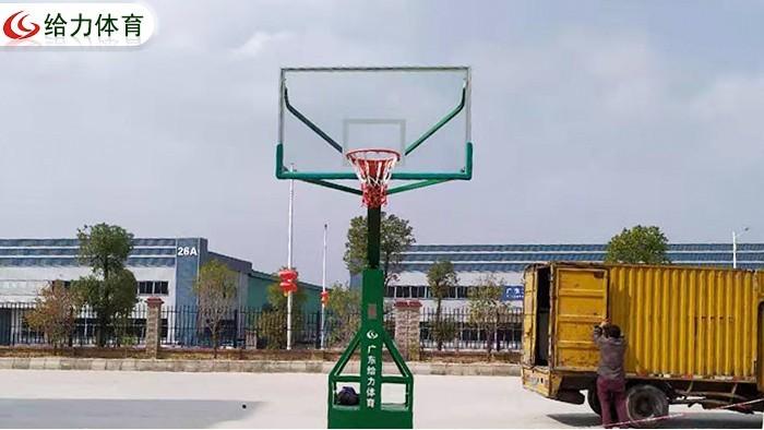 室外移动篮球架