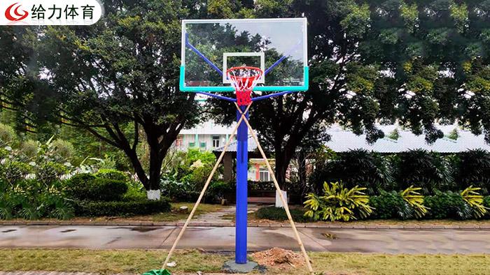 广州独柱篮球架