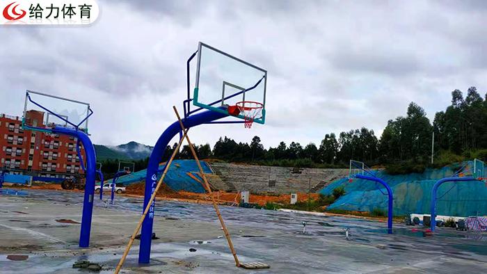广东学校篮球架