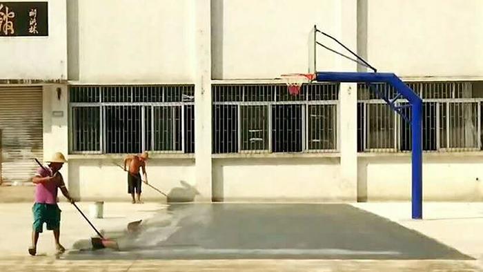 夏季户外篮球架平时的养护你知道多少?