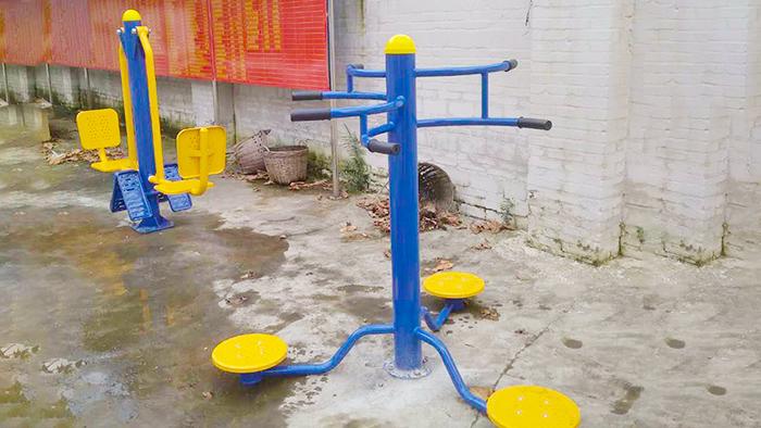广西户外健身器材厂家完成南宁科园大道社区健身器材交付工作