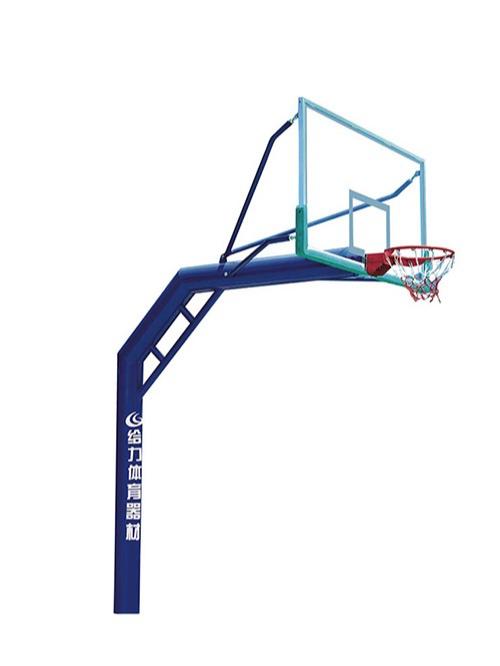 独柱埋地篮球架