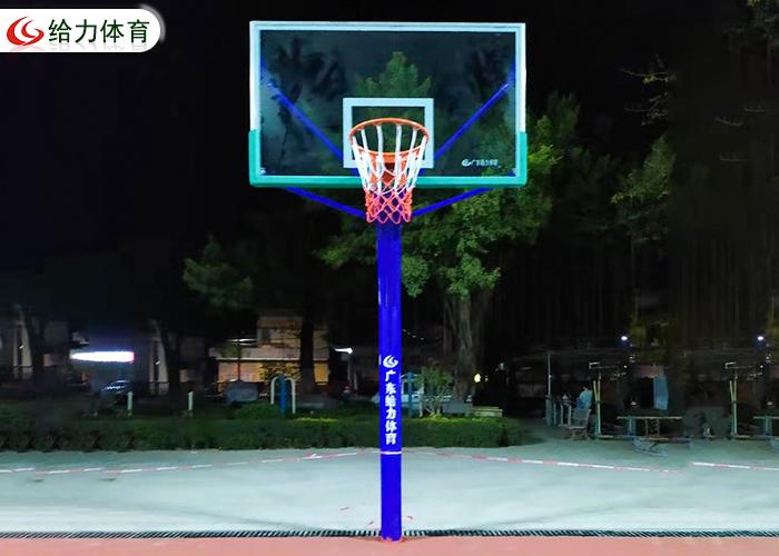 圆管固定篮球架