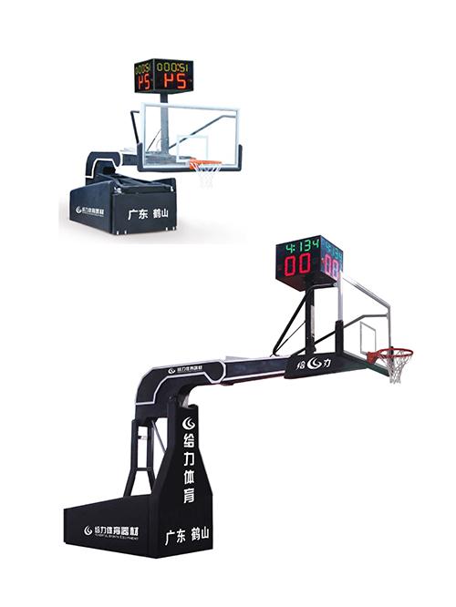 电动升降篮球架