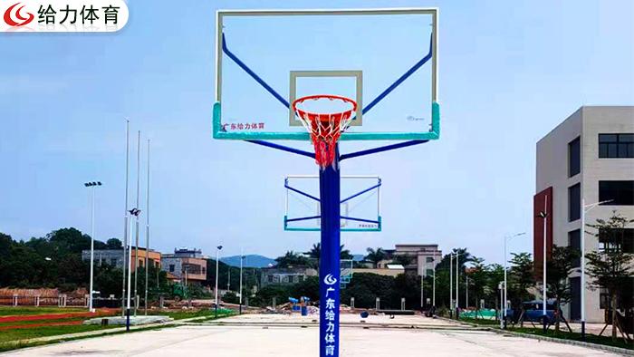 广东独柱篮球架价格
