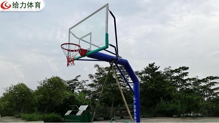 中山固定篮球架价钱