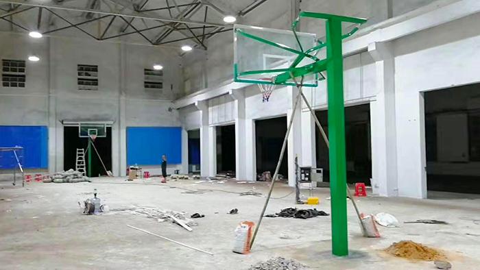 珠海第二十六小学操场升降式儿童篮球架圆满结束