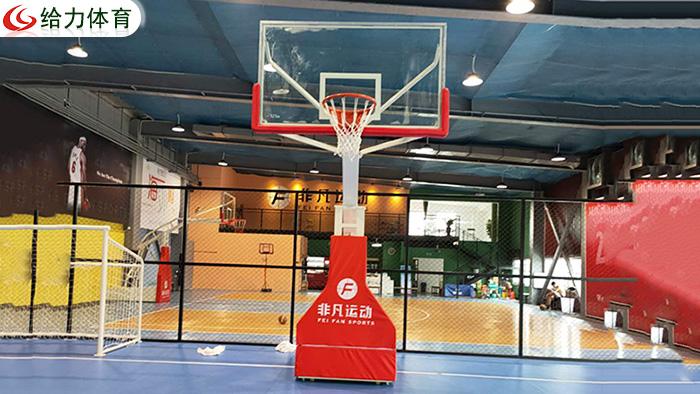 海南篮球架价钱