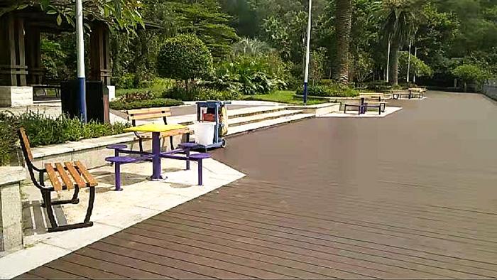 深圳福田公园健身器材骑马机的三种健身法