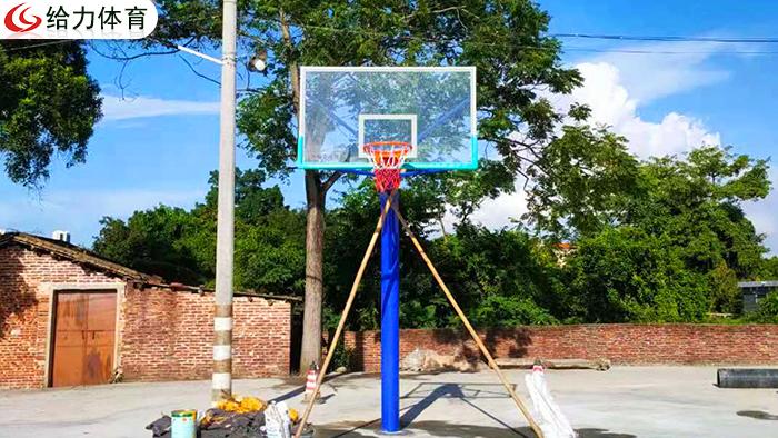 柳州埋地篮球架