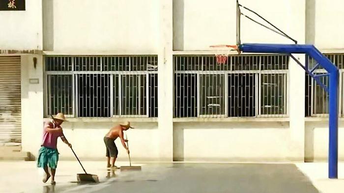 埋地篮球架