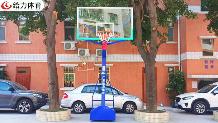 广州可移动篮球架价钱