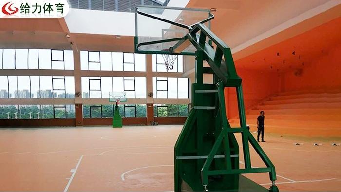 东莞固定篮球架价钱实在 东莞篮球架厂家建设美丽乡村给力同行