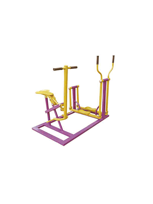 骑马机平步机-公园健身器材
