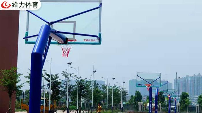 柳州埋地篮球架厂家