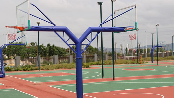 单臂海燕式篮球架