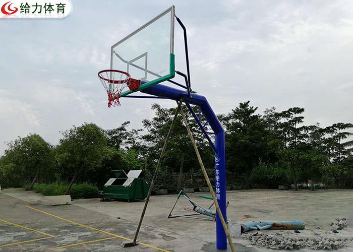 独柱篮球架价钱
