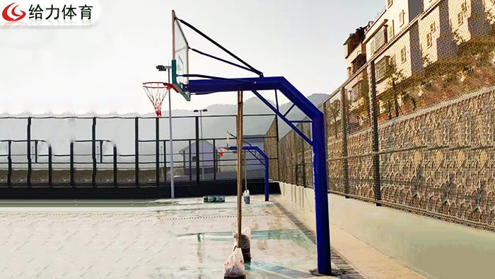 中山学校固定篮球架价钱