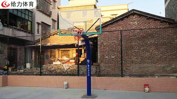 佛山独柱篮球架
