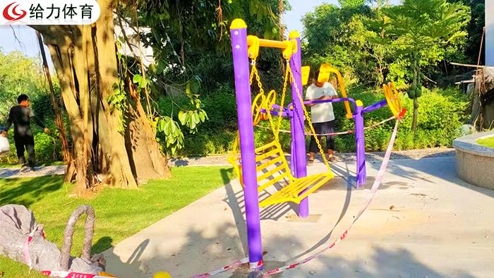 桂林公园健身器材有哪些