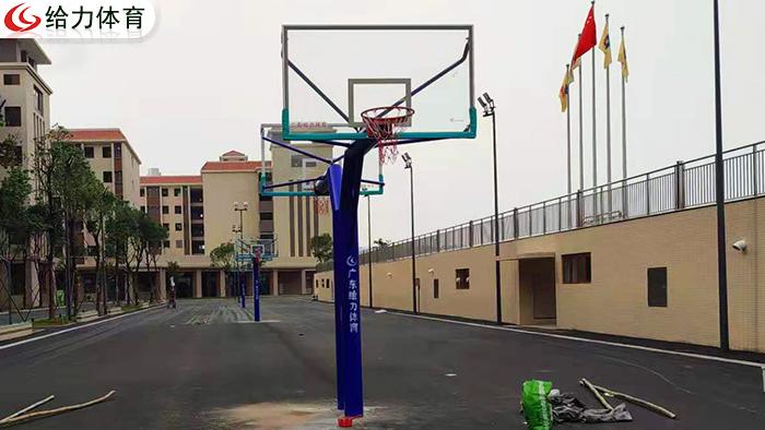 江门学校篮球架