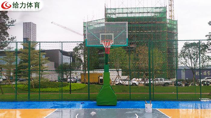 广东学校篮球架厂家