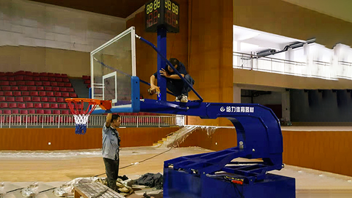 液压篮球架