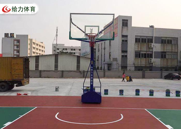 平箱移动篮球架