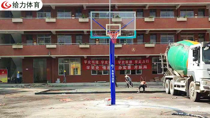 广州学校篮球架