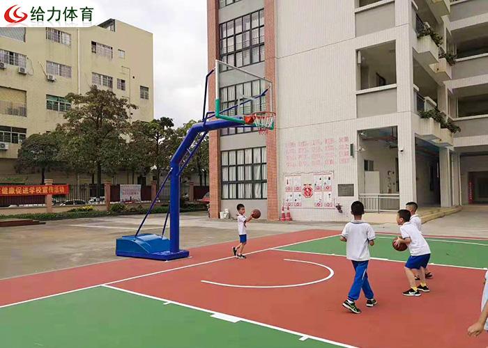 儿童升降篮球架
