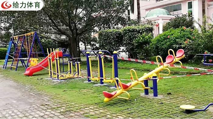 中山乡村户外健身器材构建改变周边村民生活方式